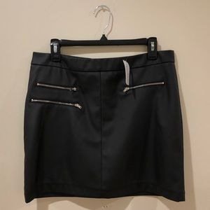 NWT Windsor black skirt with zippers